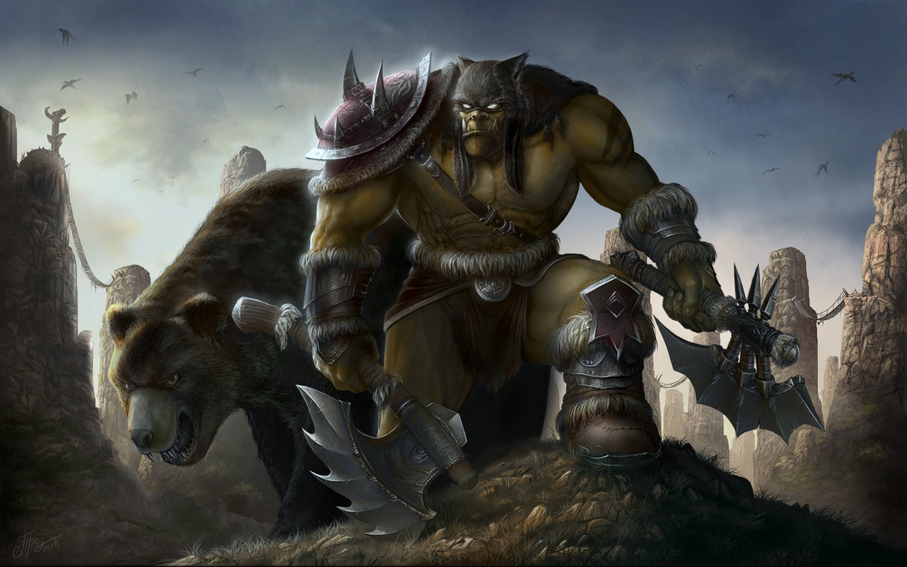 WOW Rexxar HD Desktop Wallpapers