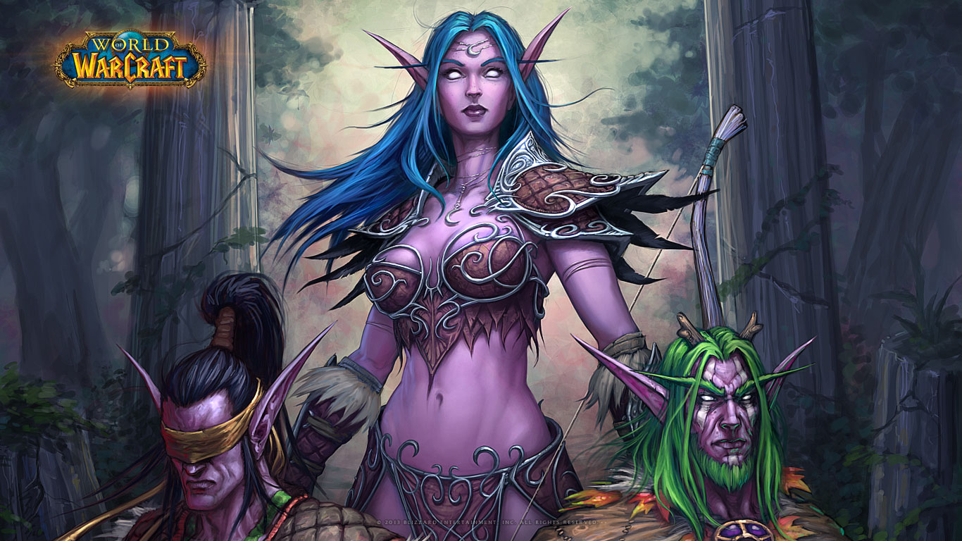 WOW Tyrande Whisperwind Wallpapers