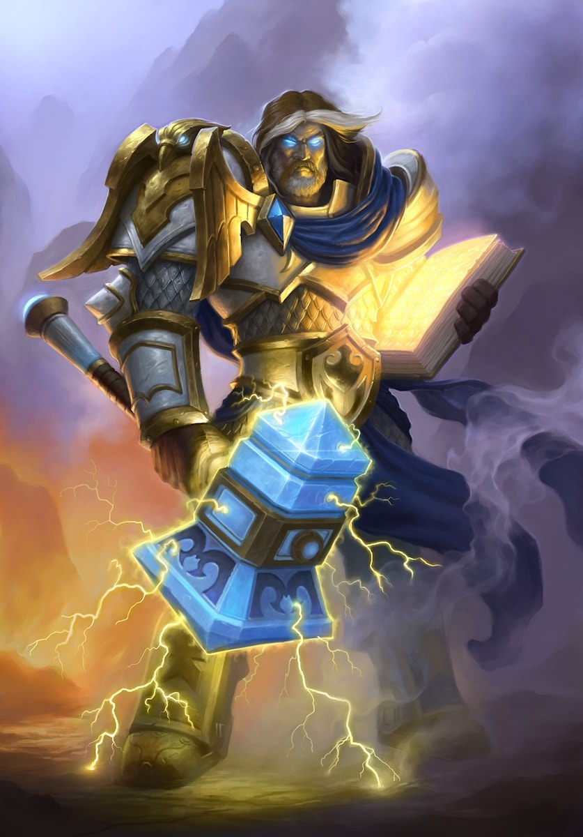 WOW: Uther the Lightbringer Wallpapers