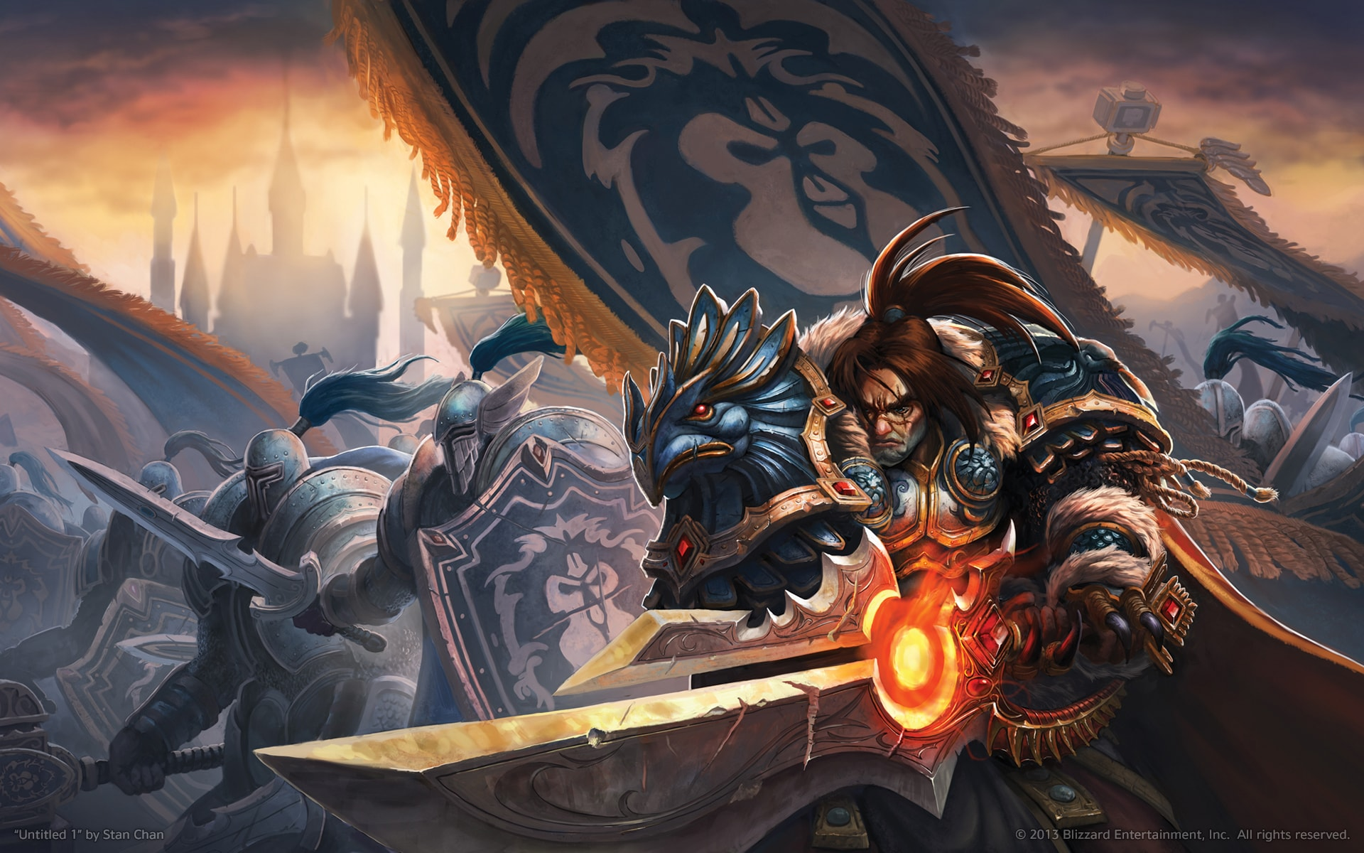 WOW: Varian Wrynn Wallpapers