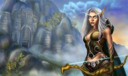 WOW: Vereesa Windrunner widescreen wallpapers