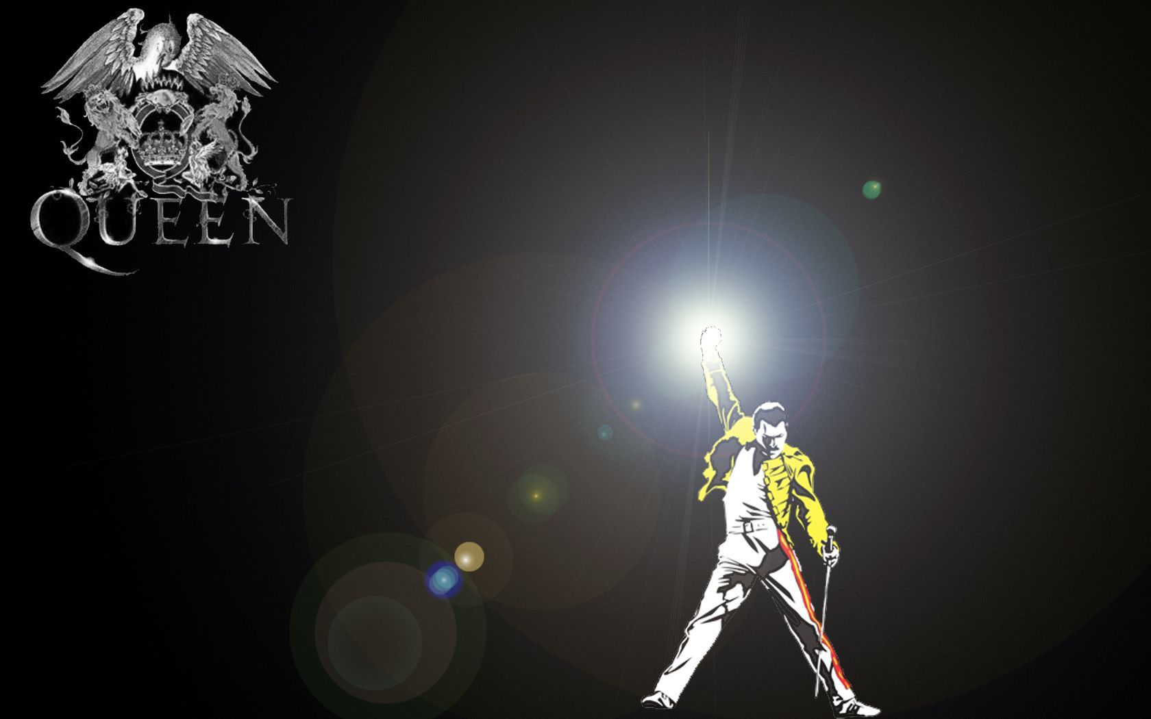Freddie Mercury widescreen