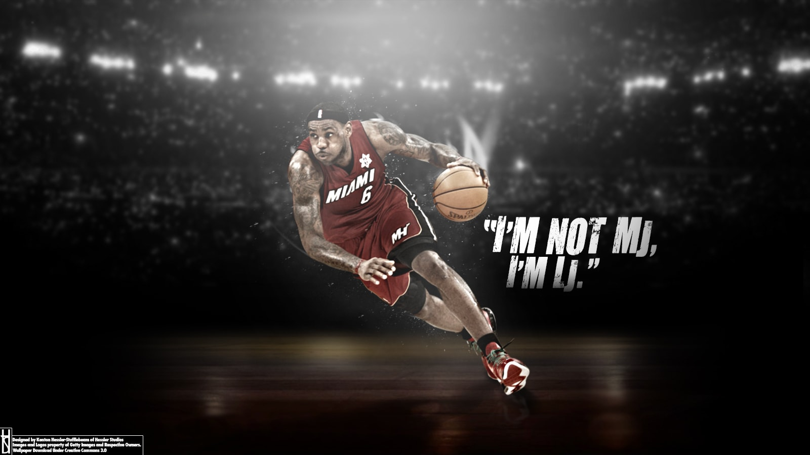 Lebron James widescreen for desktop