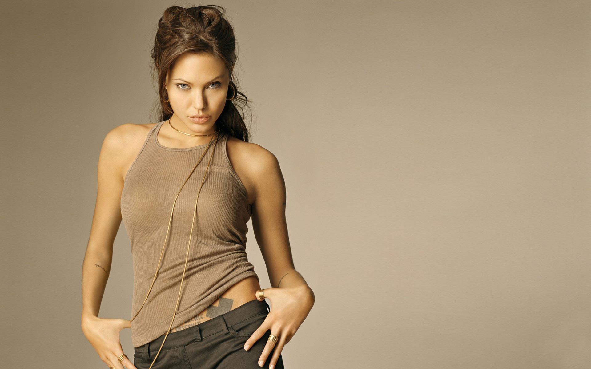 Angelina Jolie widescreen wallpapers