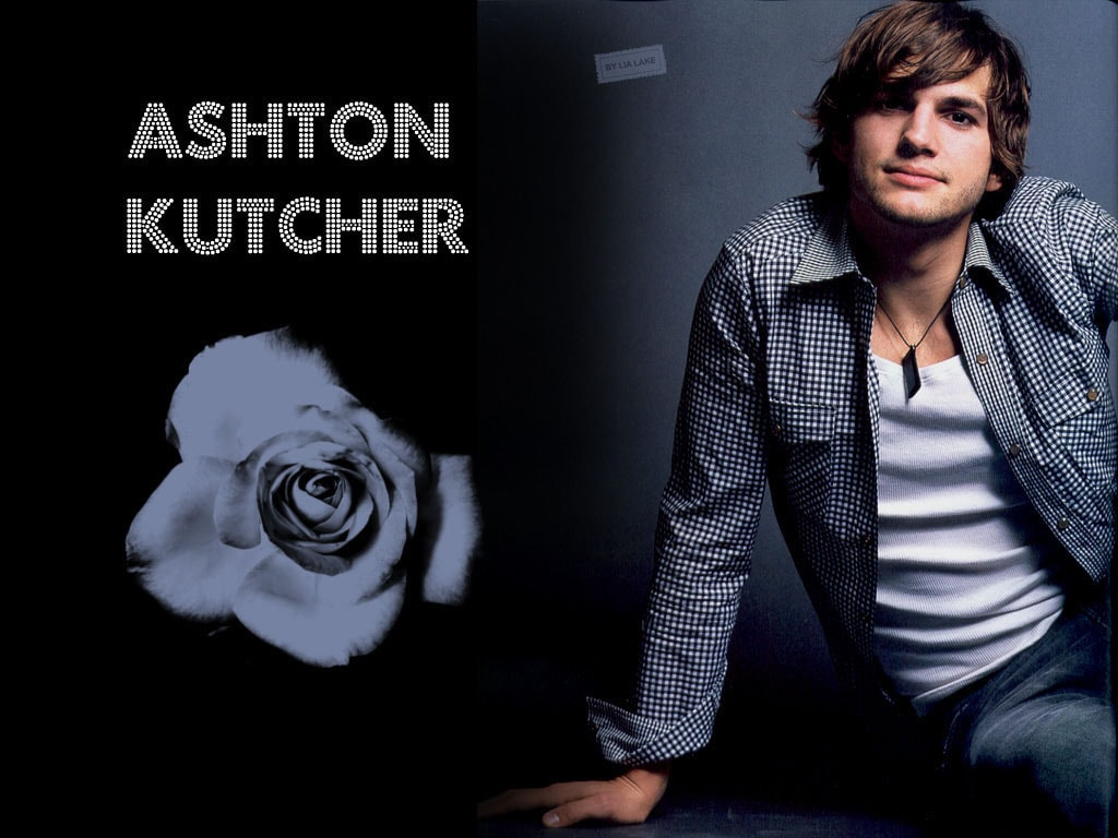 Ashton Kutcher widescreen wallpapers