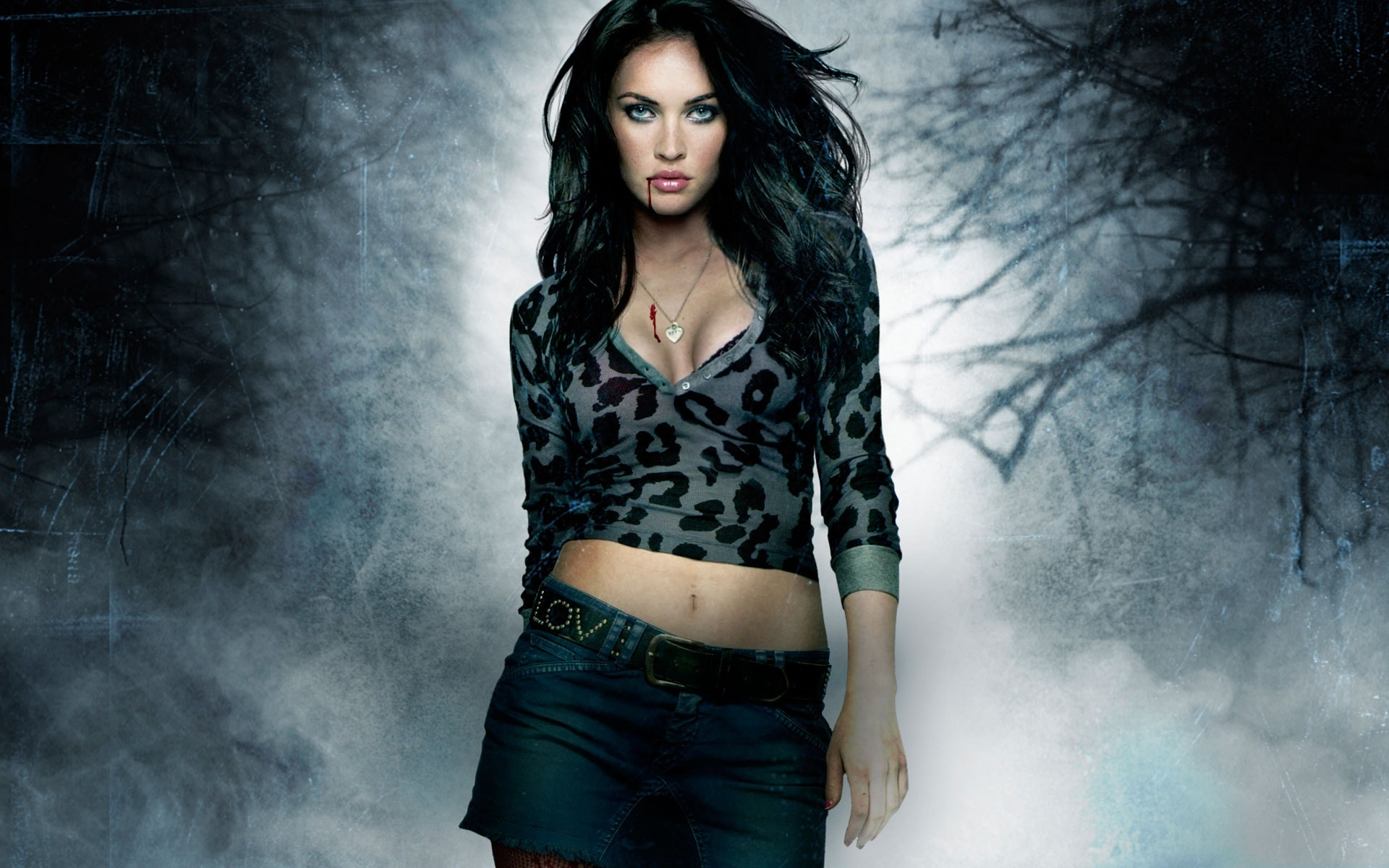 Megan Fox widescreen wallpapers