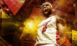 Lebron James widescreen wallpapers