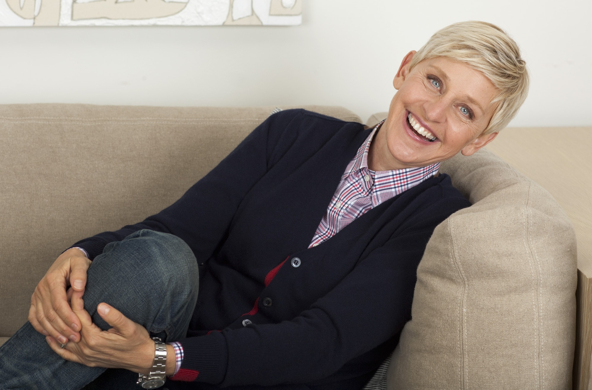 Ellen Degeneres widescreen for desktop