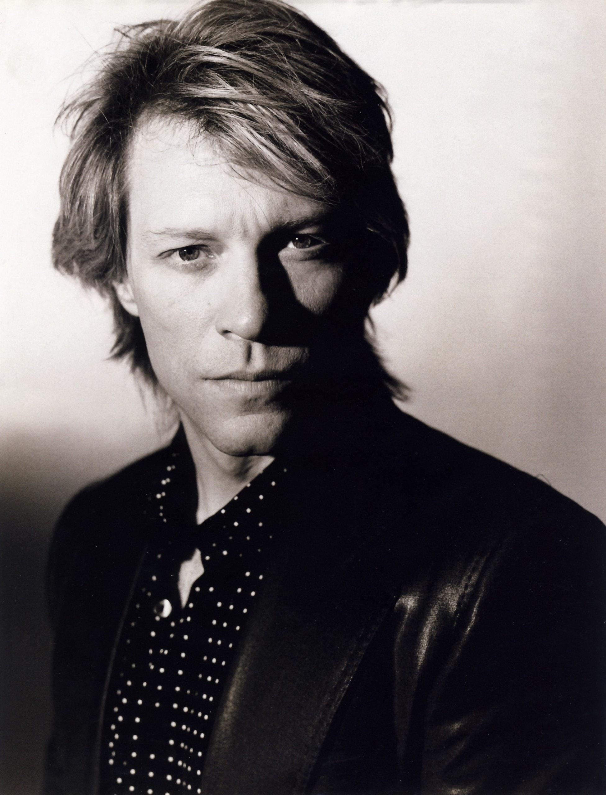 Jon Bon Jovi widescreen for desktop
