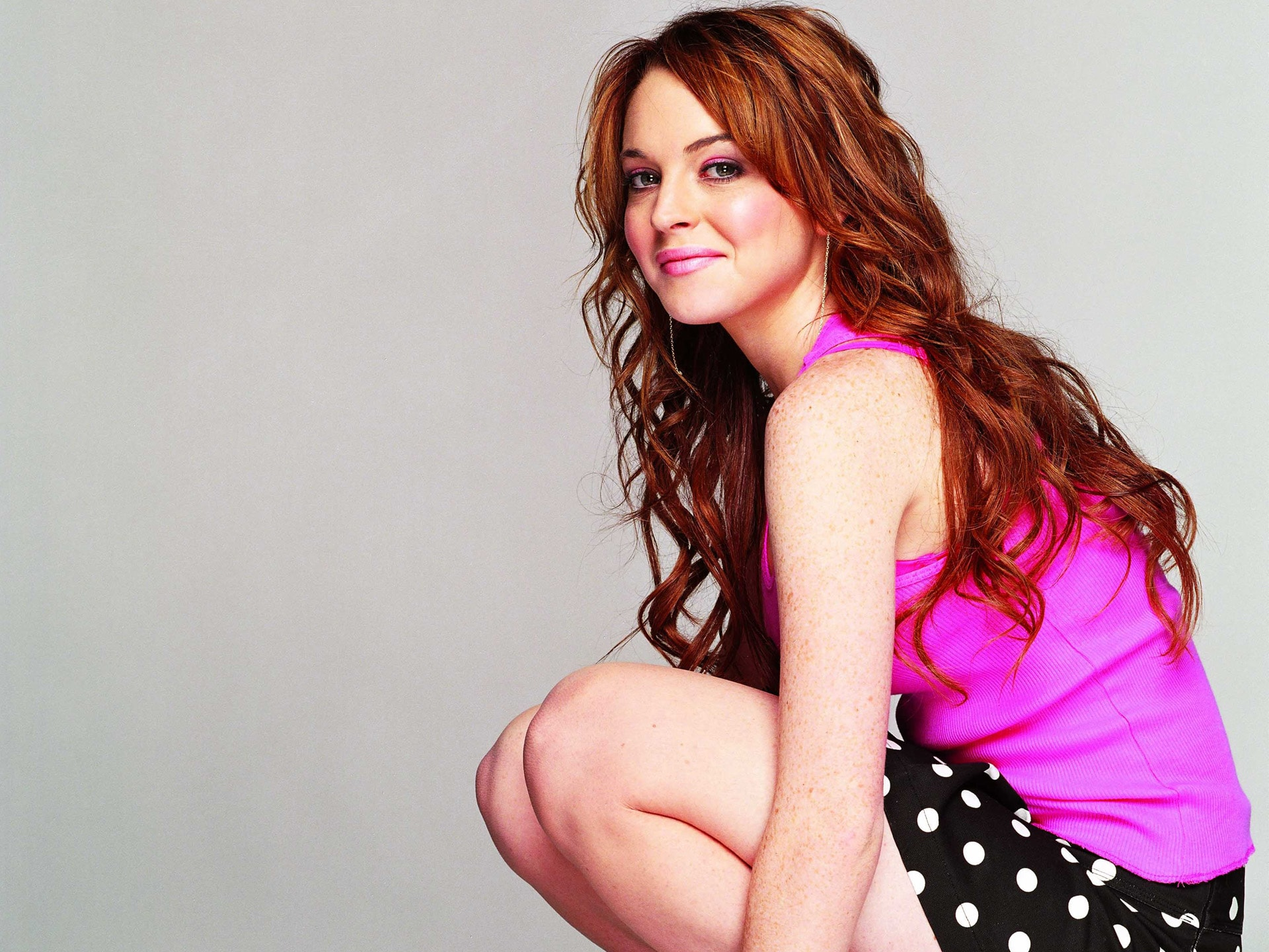 Lindsay Lohan widescreen for desktop
