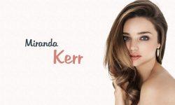 Miranda Kerr widescreen for desktop