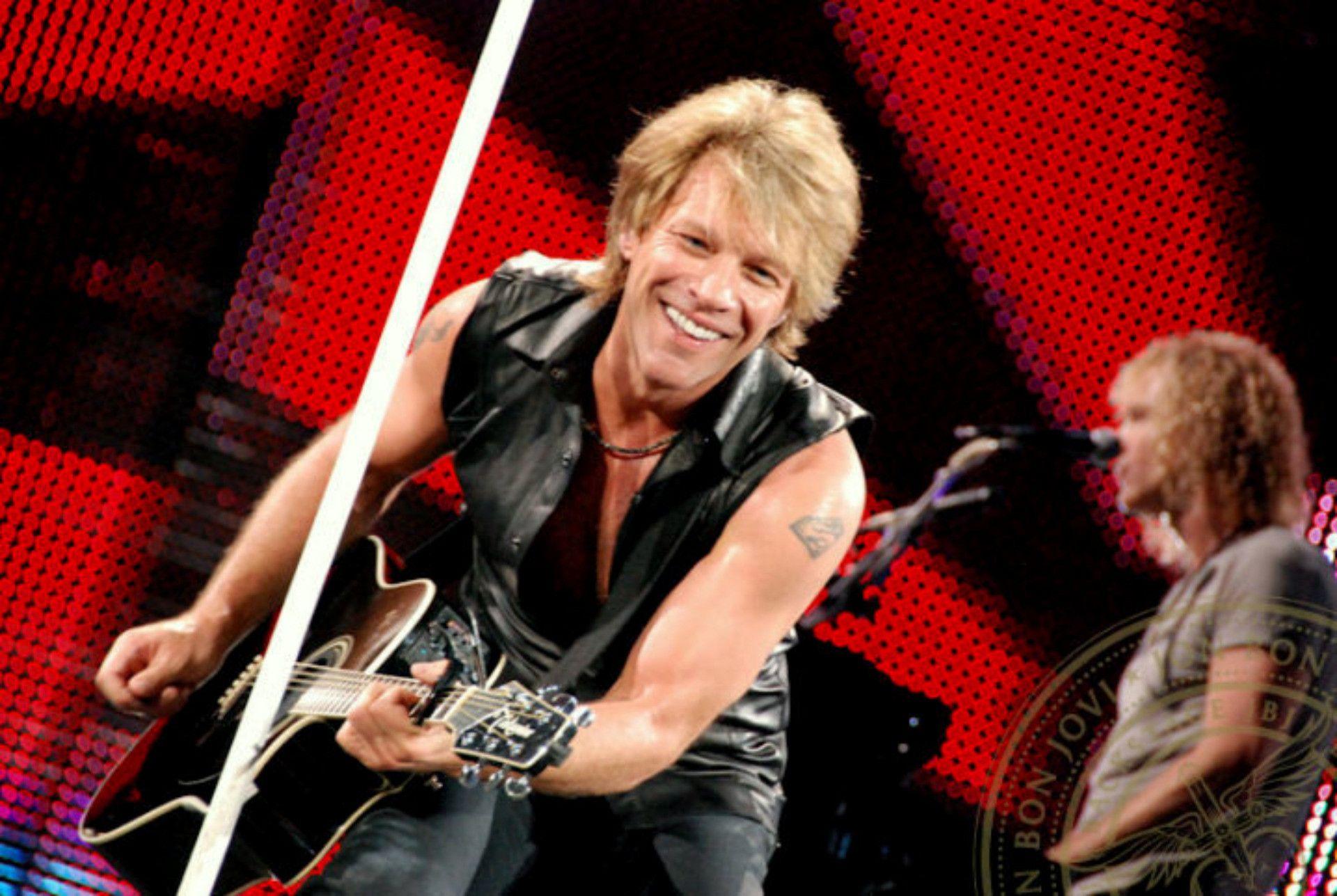 Jon Bon Jovi widescreen