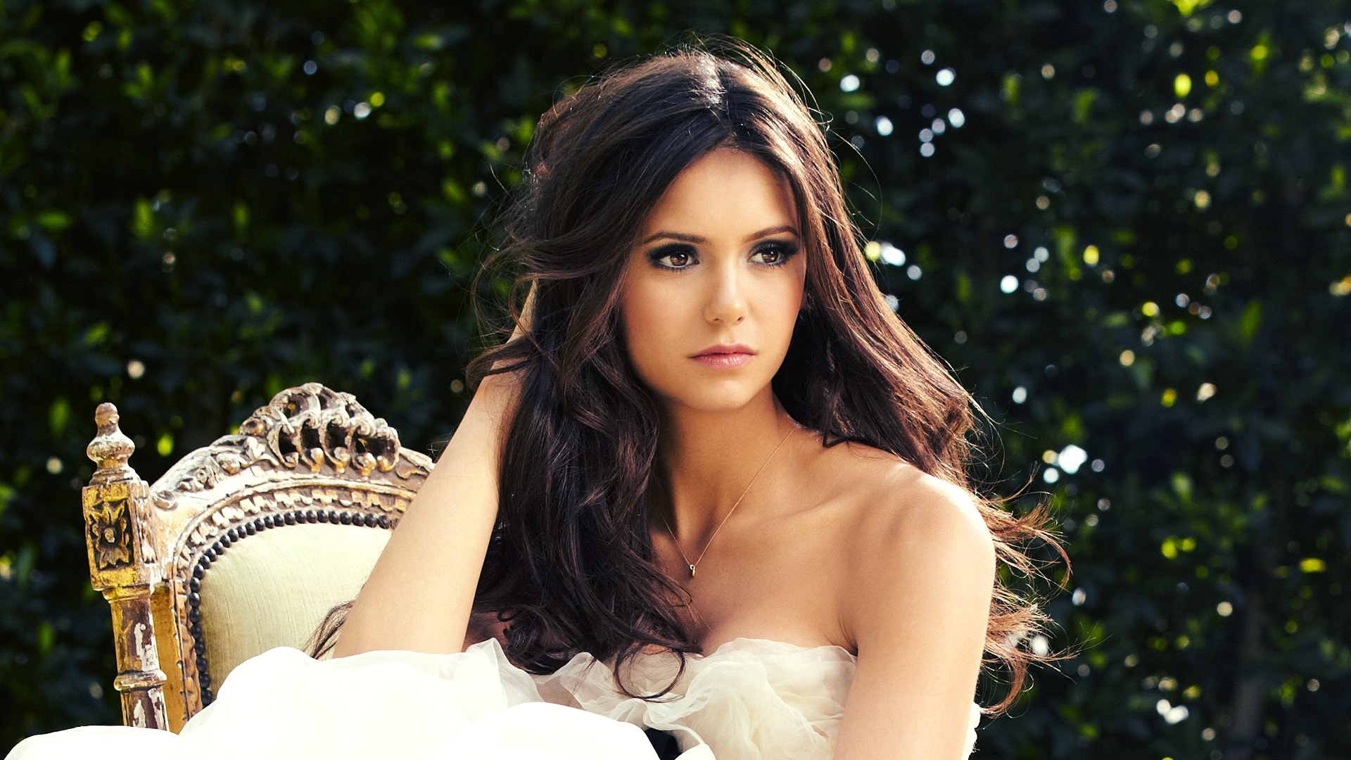 Nina Dobrev Wide wallpapers