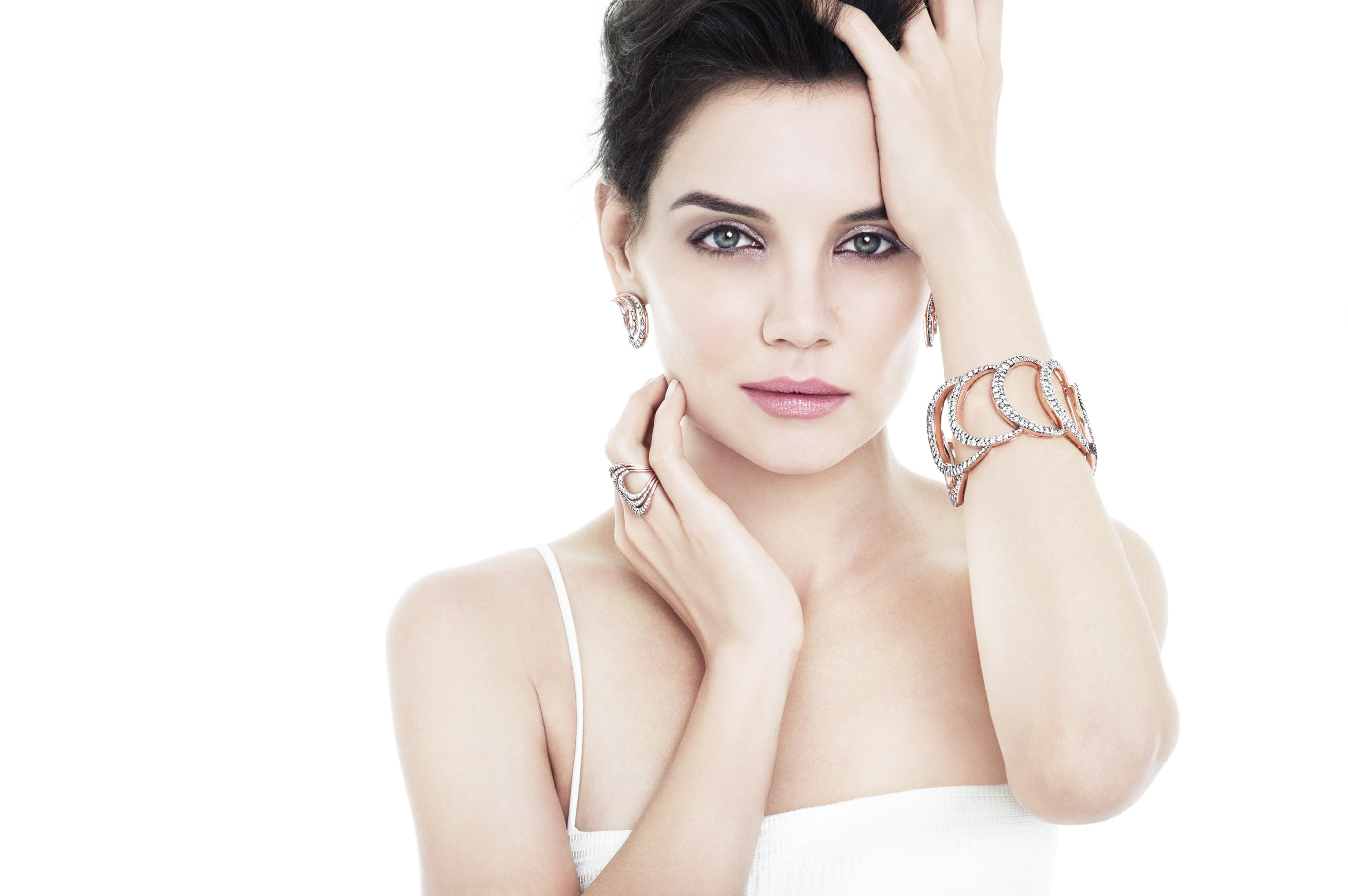 Katie Holmes Wide wallpapers