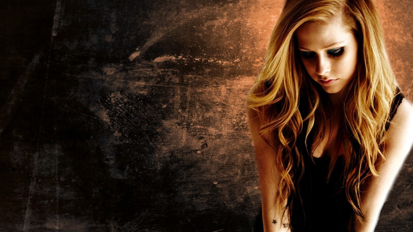 avril lavigne hd desktop wallpapers | 7wallpapers