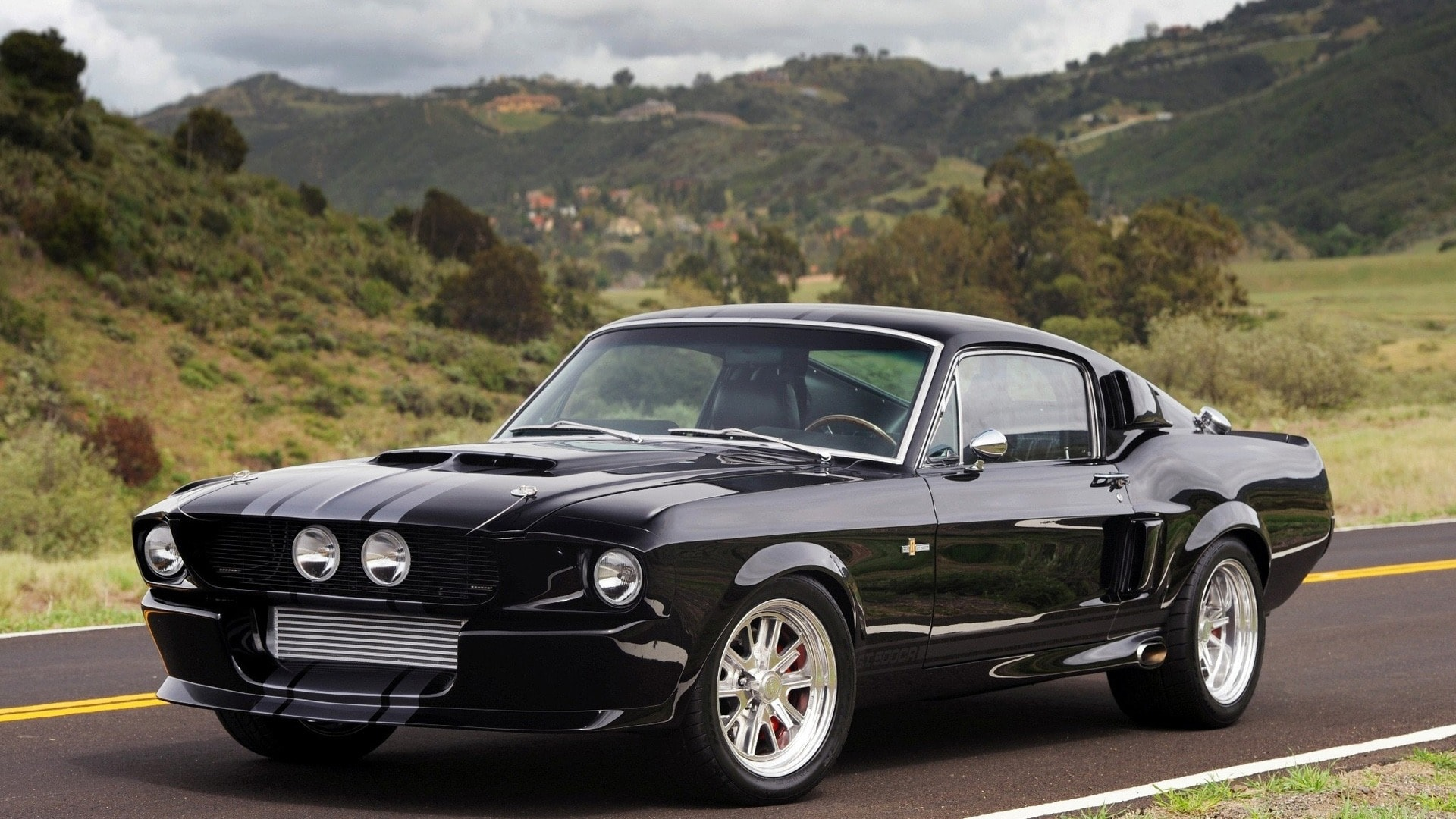 1967 Shelby GT500 Desktop wallpaper