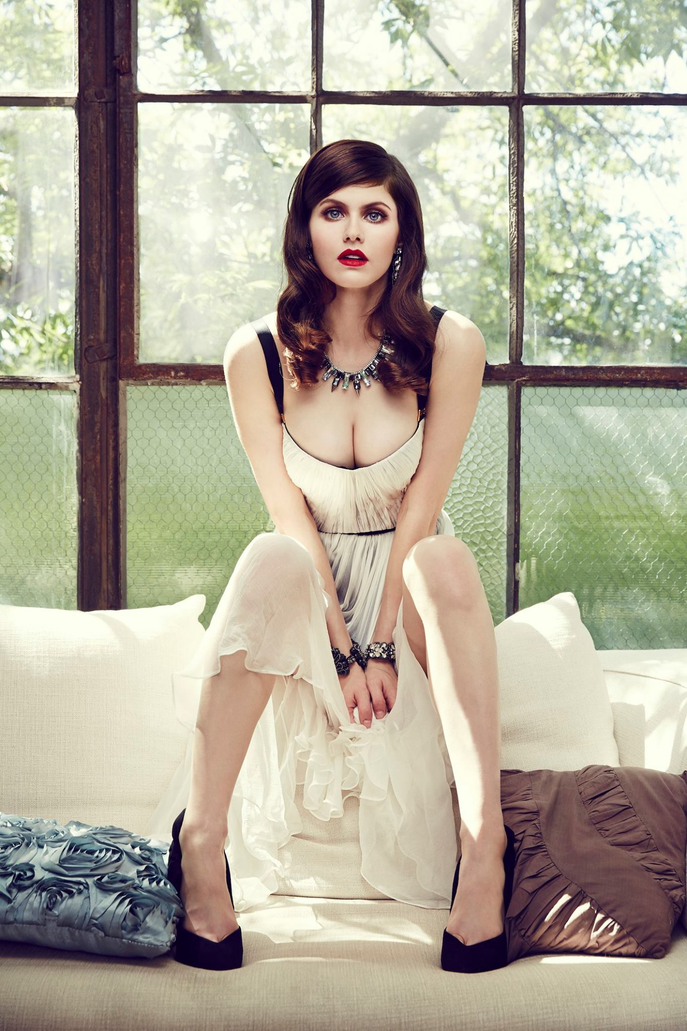 Alexandra Daddario Desktop wallpaper