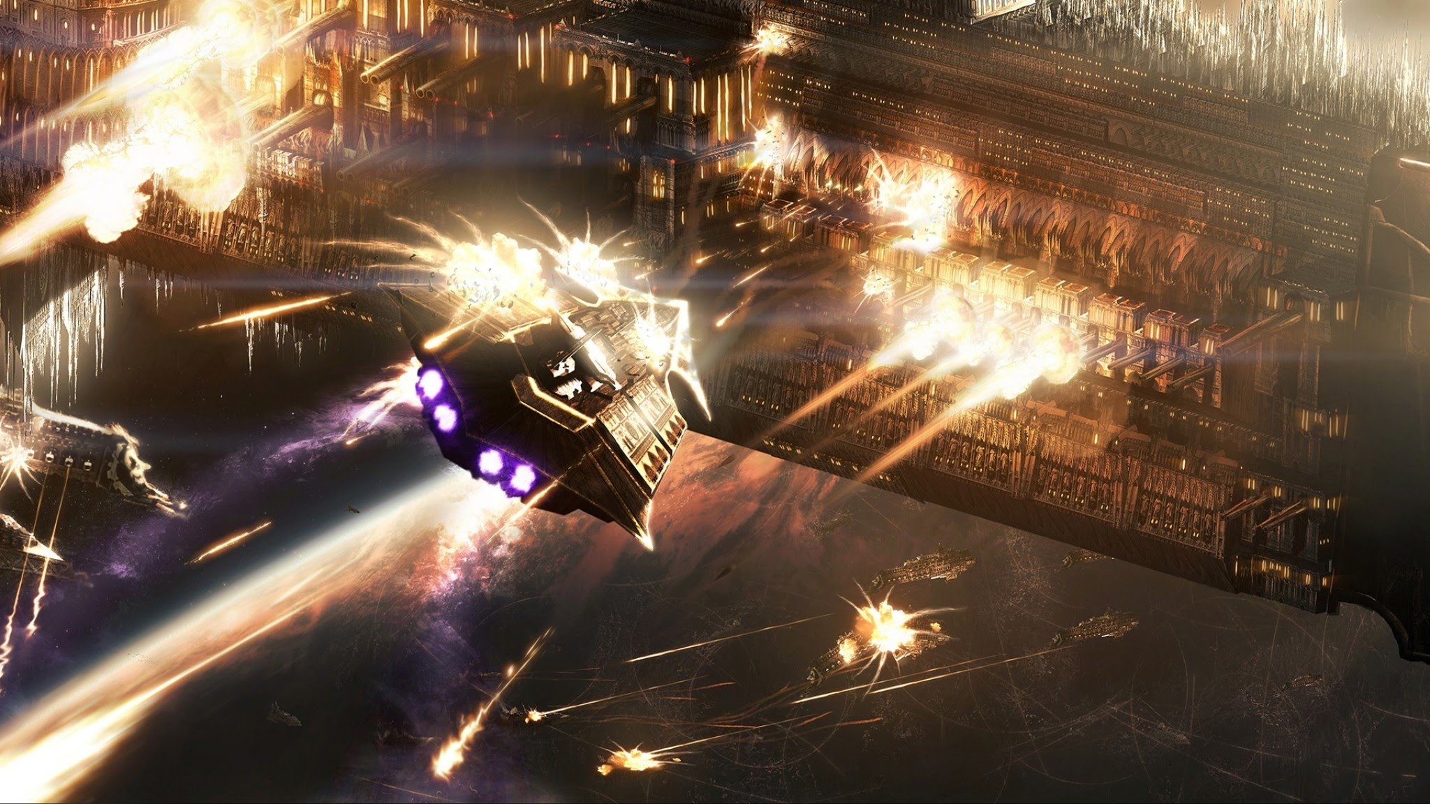Battlefleet Gothic: Armada Desktop wallpaper