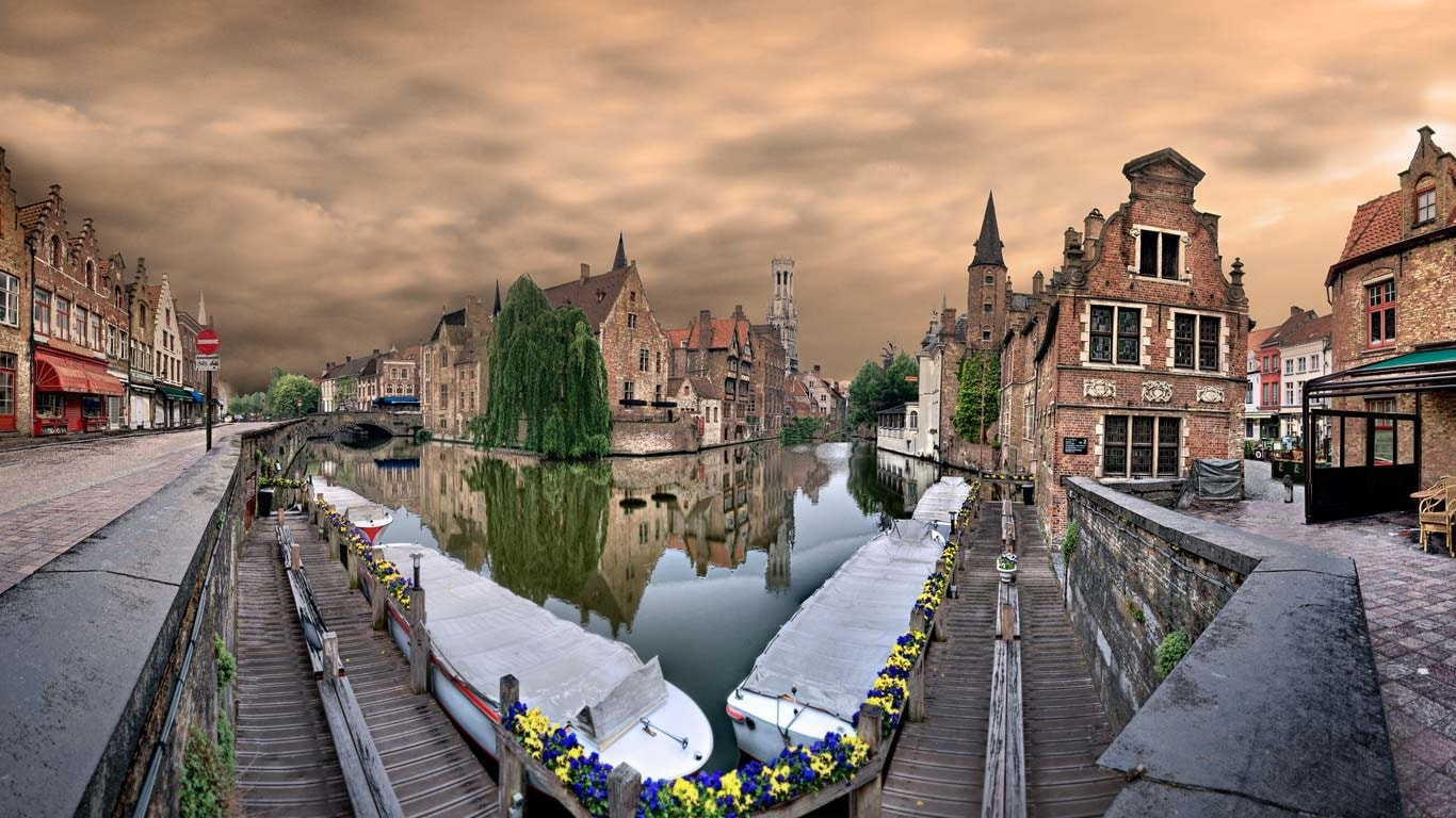 Bruges desktop wallpaper