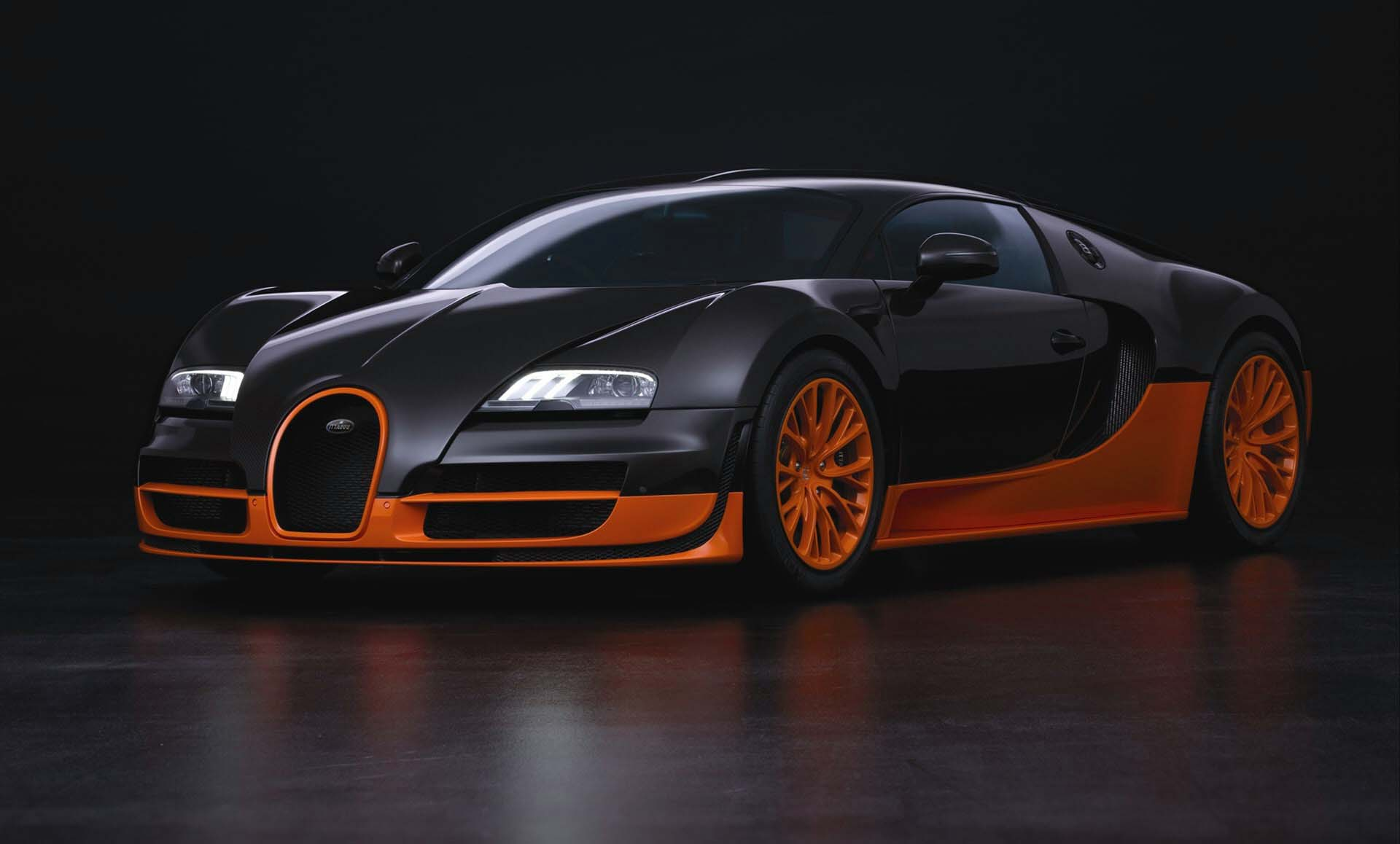 Bugatti Veyron Super Sport Desktop wallpaper