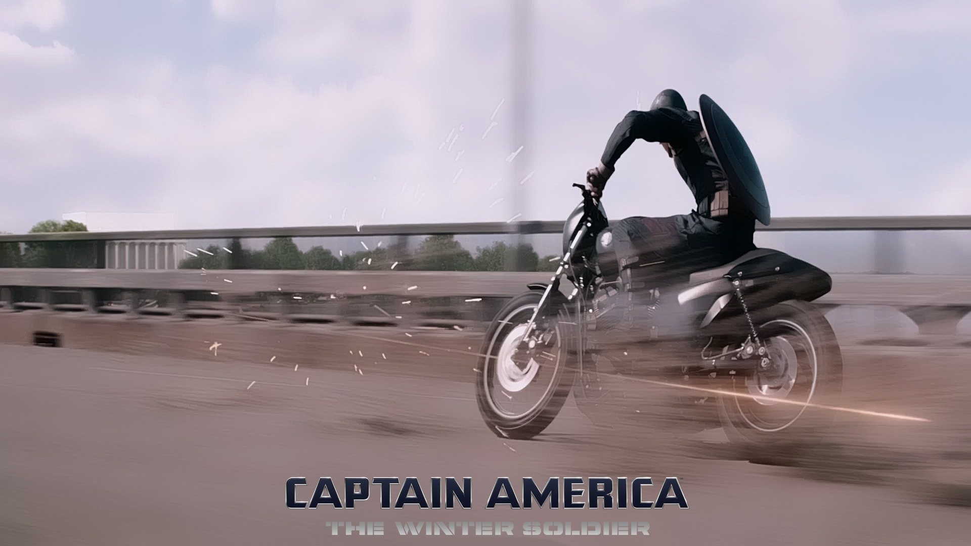 Captain America: The Winter Soldier desktop wallpaper