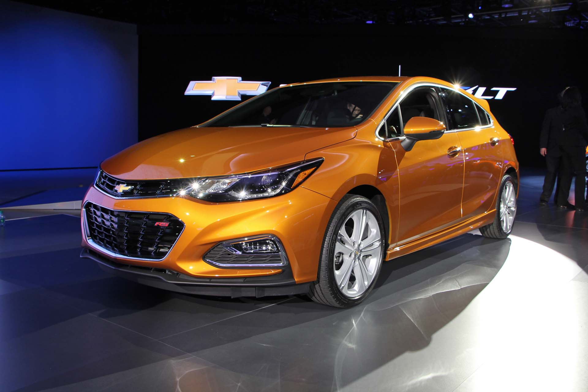 Chevrolet Cruze 2 Hatchback Desktop wallpaper