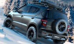 Chevrolet Niva 2 Desktop wallpaper