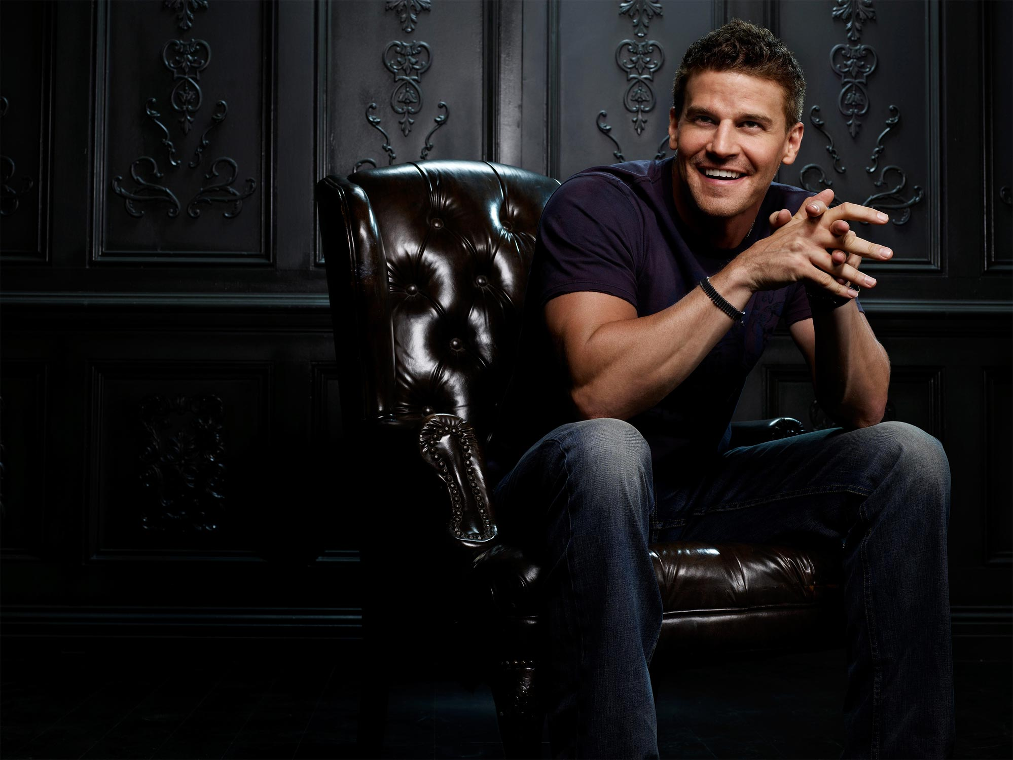 David Boreanaz Desktop wallpaper