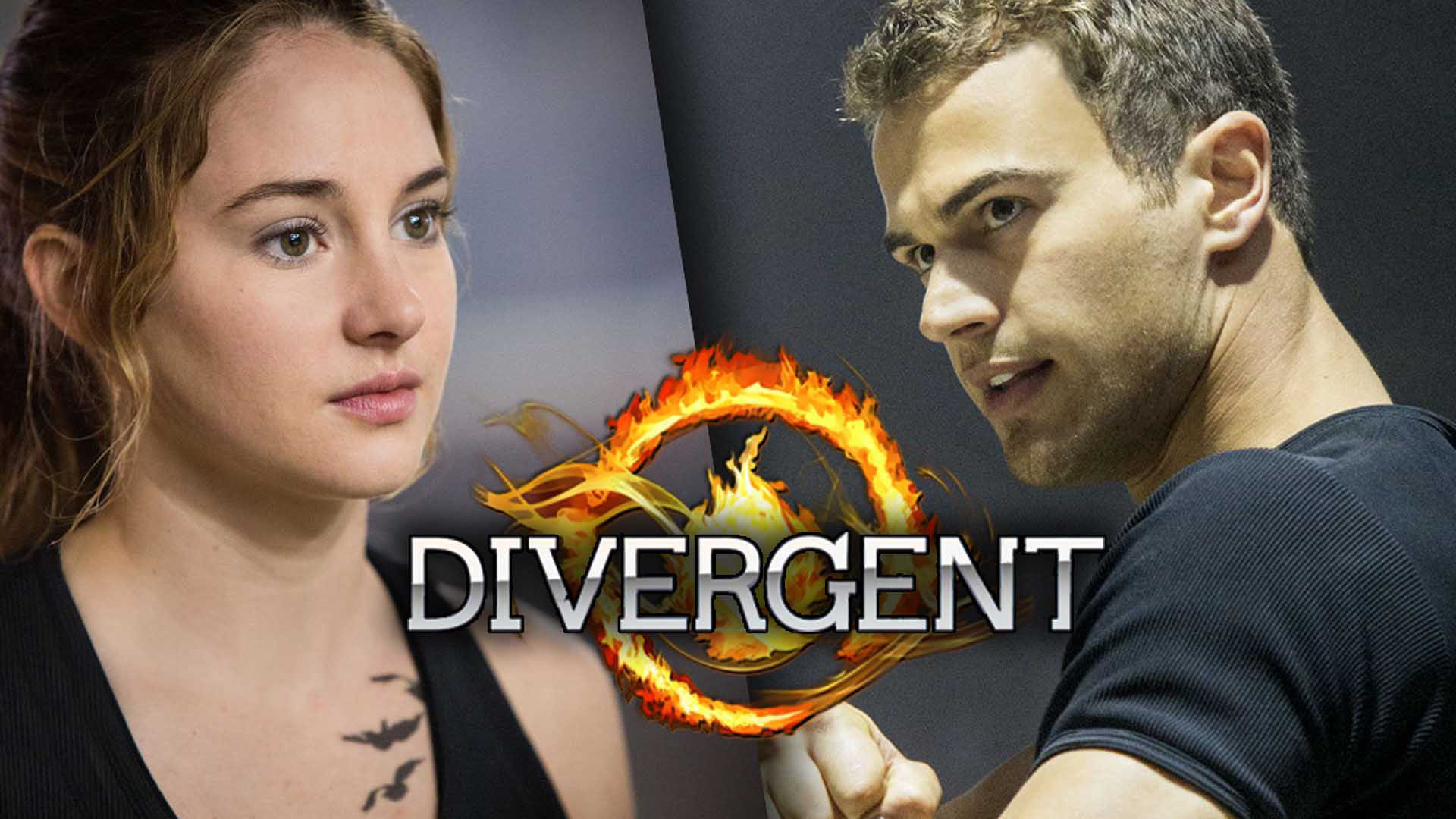 Divergent desktop wallpaper