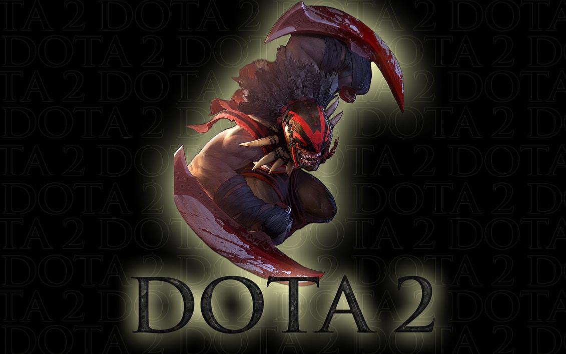 Dota2 : Bloodseeker widescreen