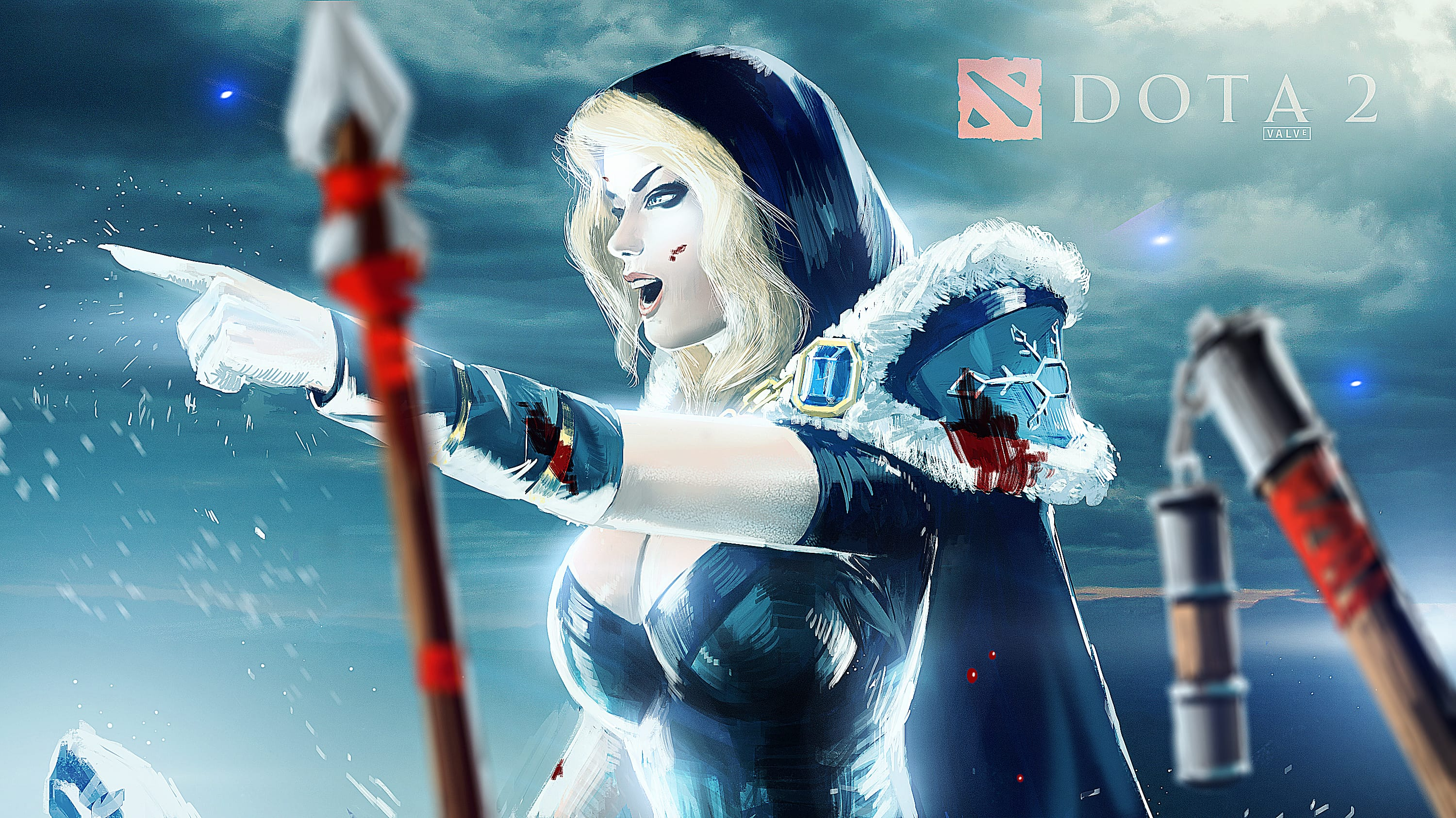 Dota2 : Crystal Maiden desktop wallpaper