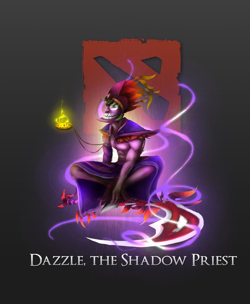 Dota2 : Dazzle widescreen