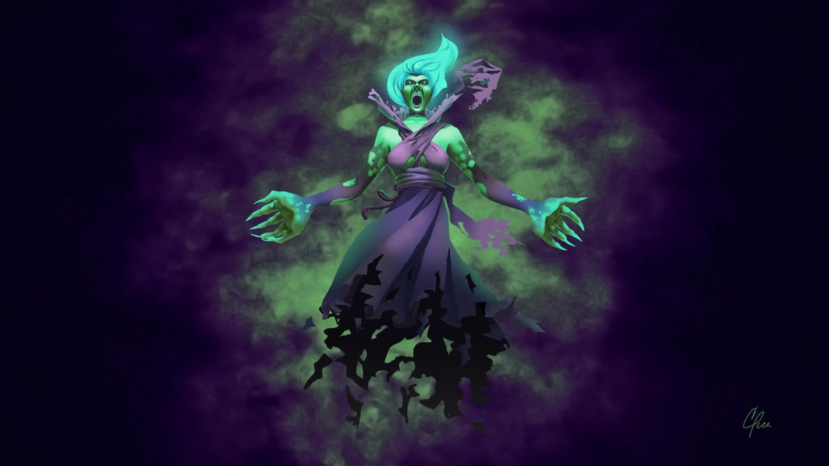 Dota2 : Death Prophet High