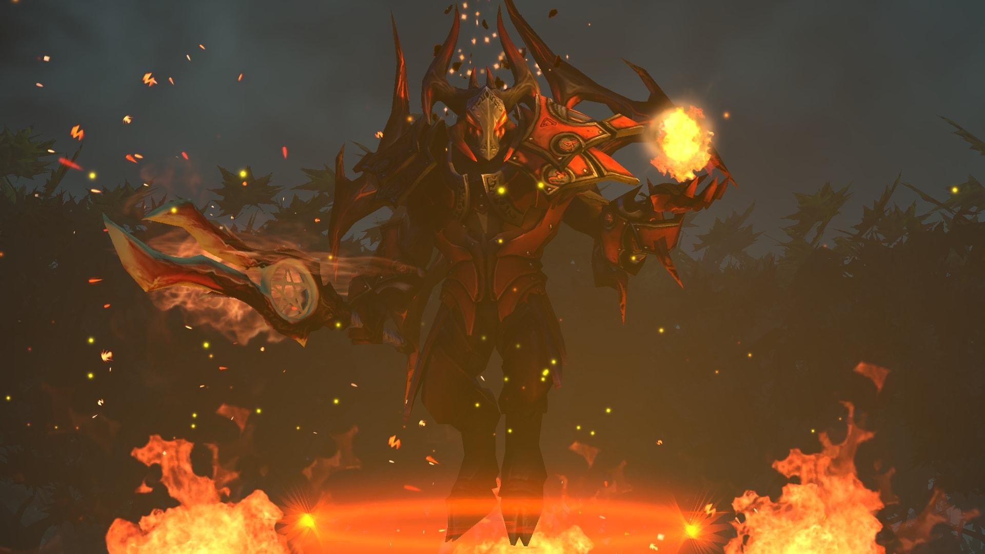 Dota2 : Doom widescreen