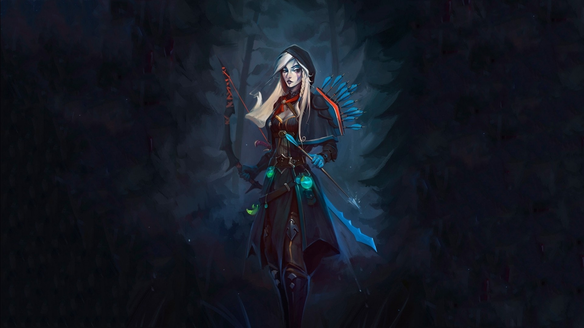 Dota2 : Drow Ranger desktop wallpaper