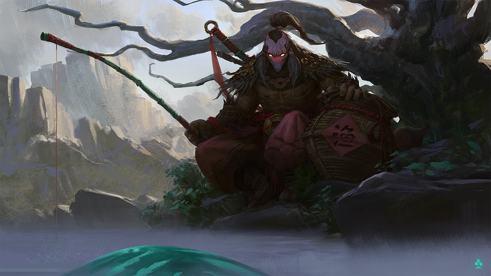 Dota2 : Juggernaut desktop wallpaper