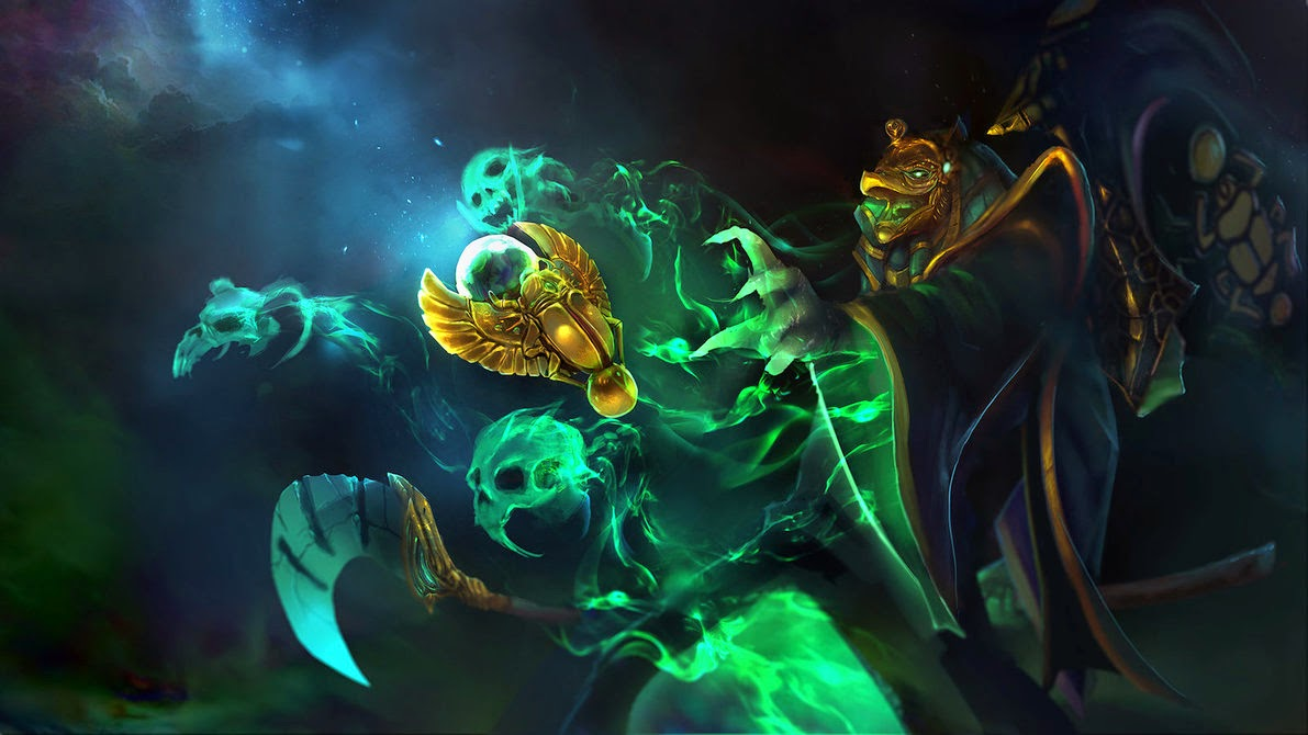 Dota2 : Rubick widescreen