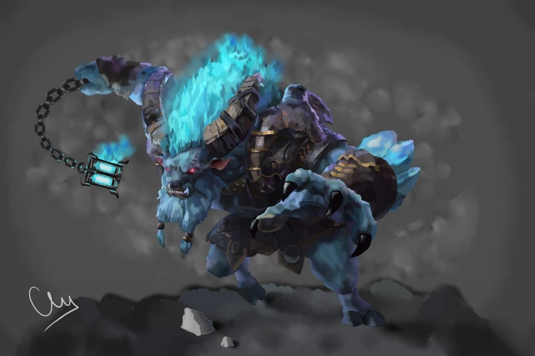 Dota2 : Spirit Breaker widescreen