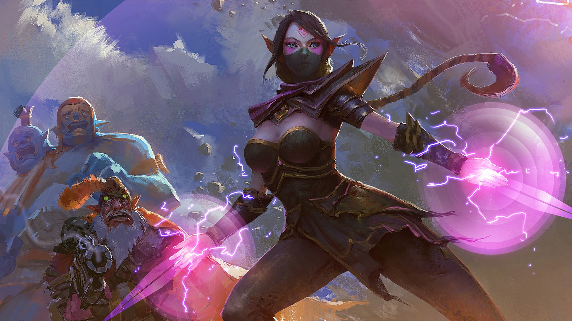 Dota2 : Templar Assassin desktop wallpaper