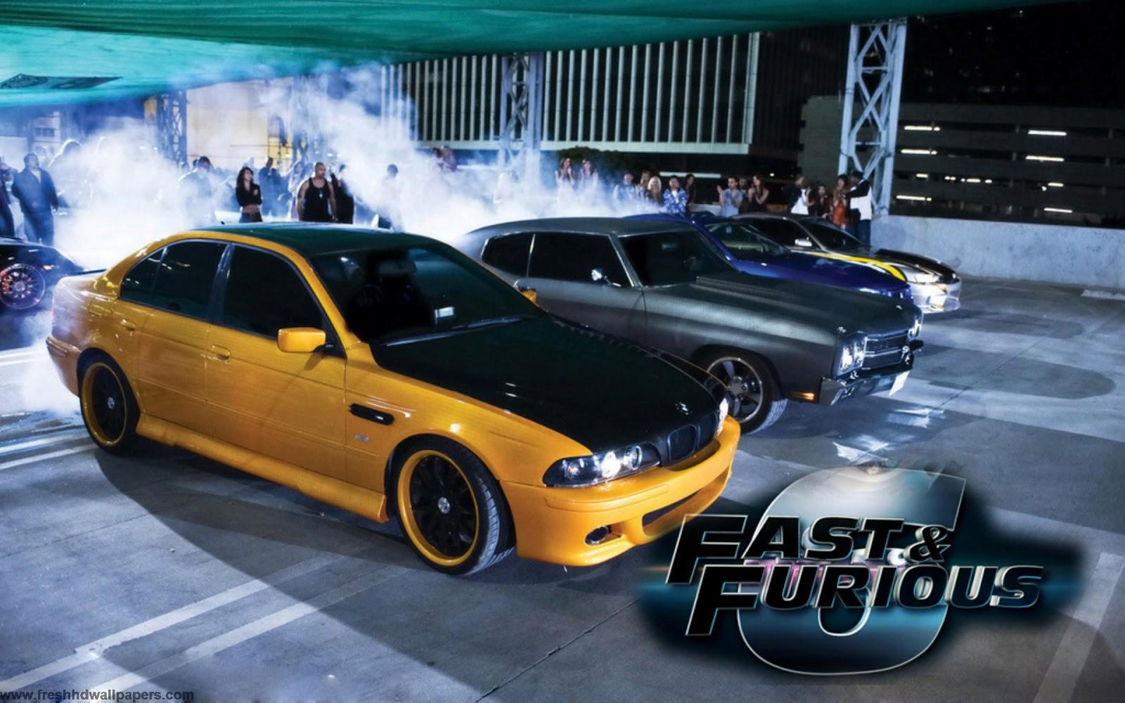 Fast & Furious 6 desktop wallpaper