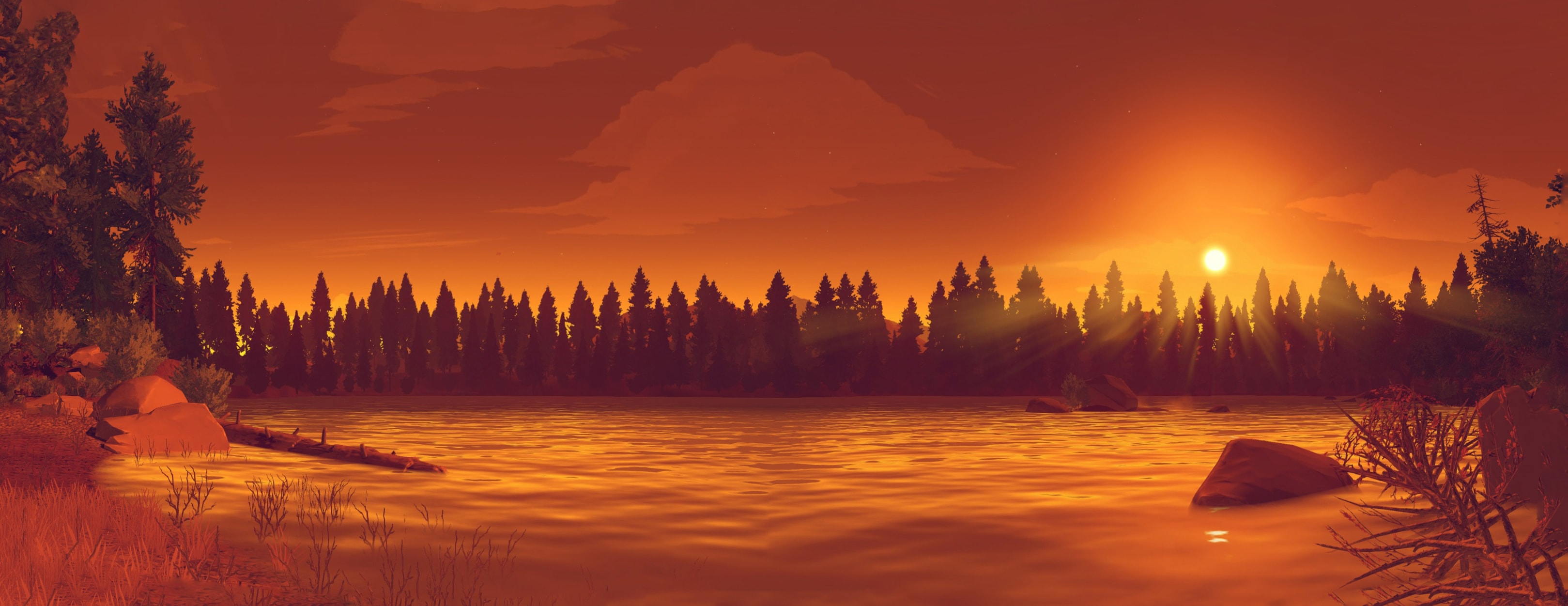 Firewatch Desktop wallpaper