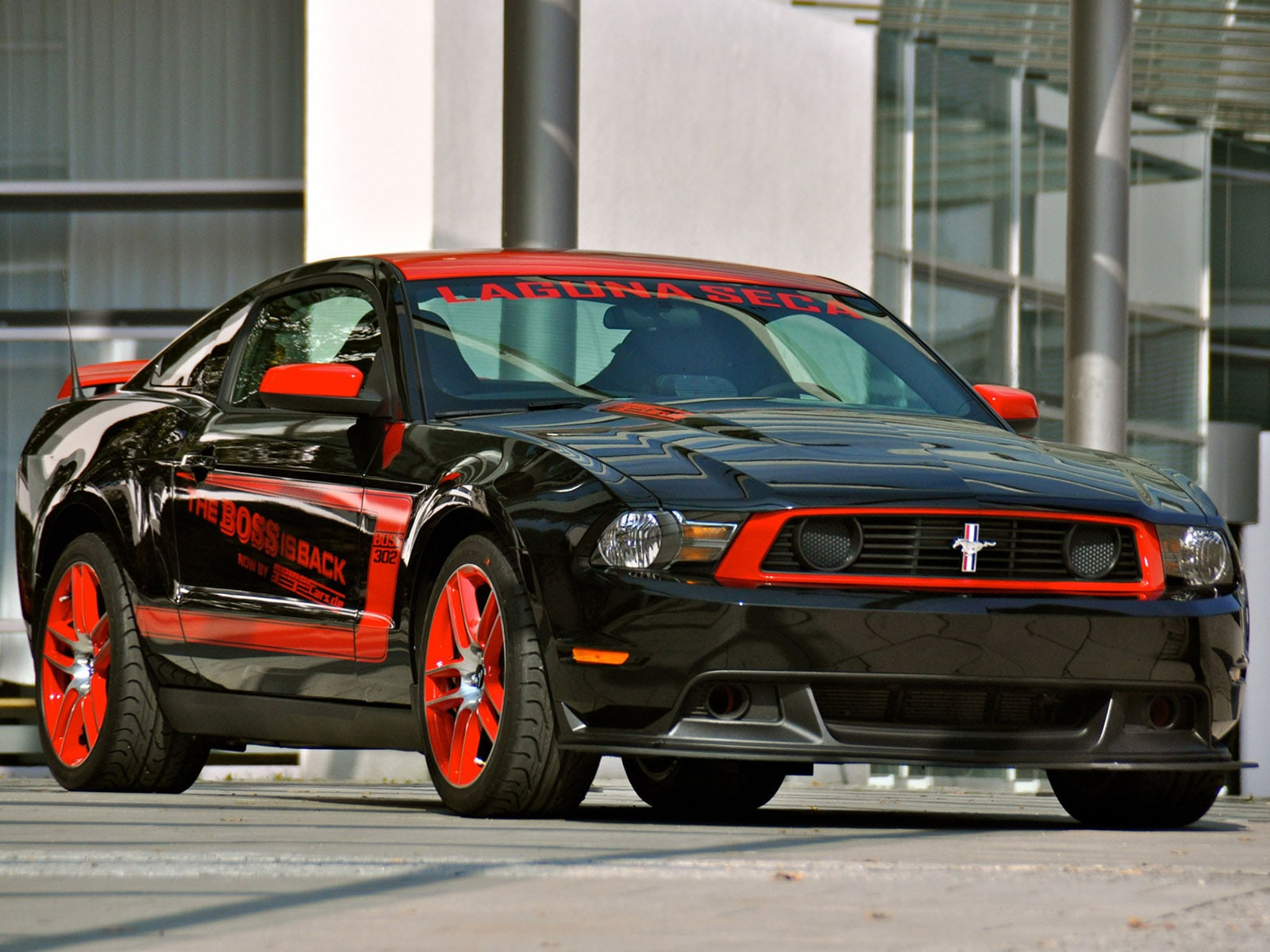 Ford Mustang Boss 302 Laguna Seca Desktop wallpaper