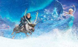 Frozen desktop wallpaper