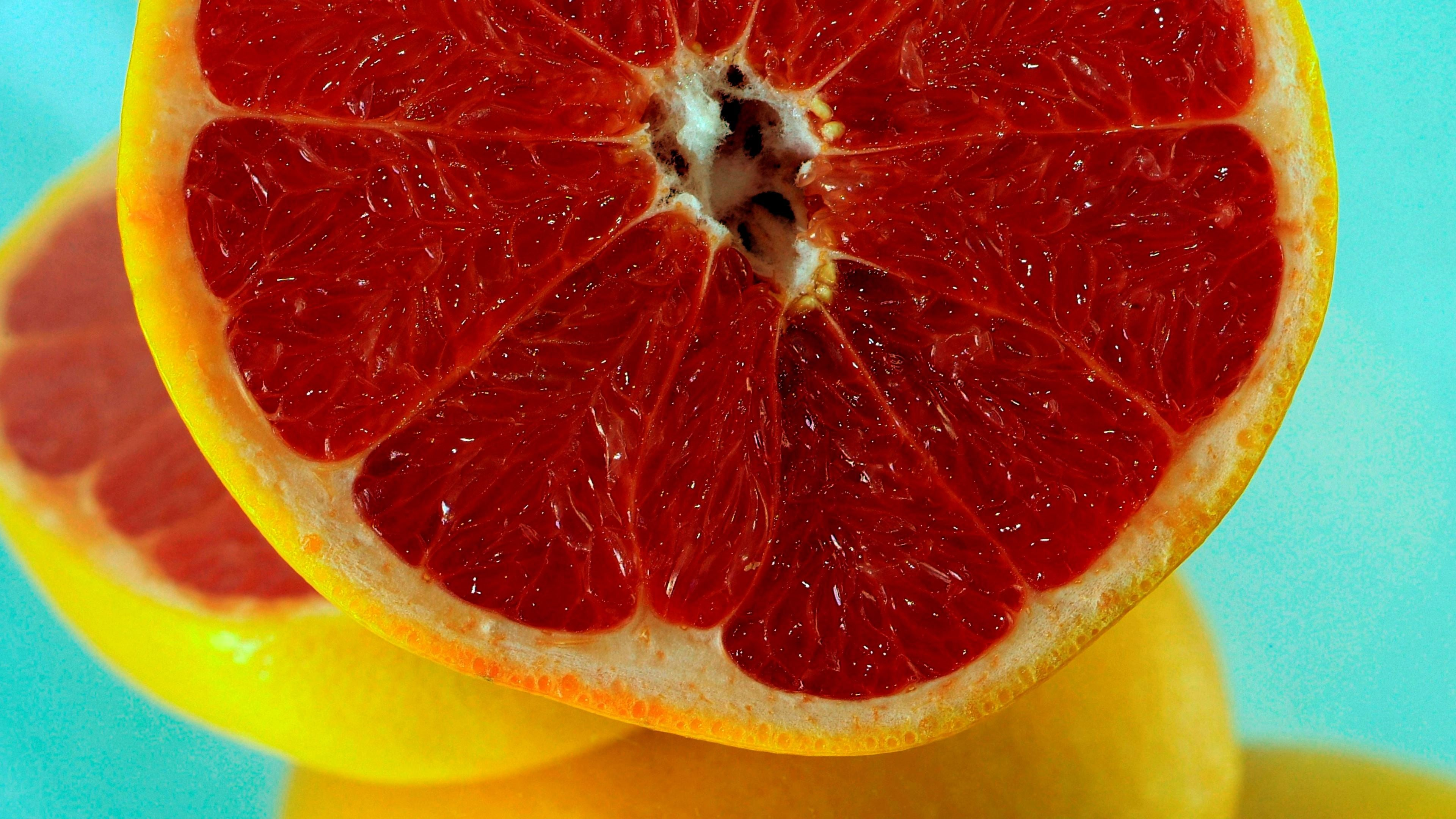 Grapefruit desktop wallpaper
