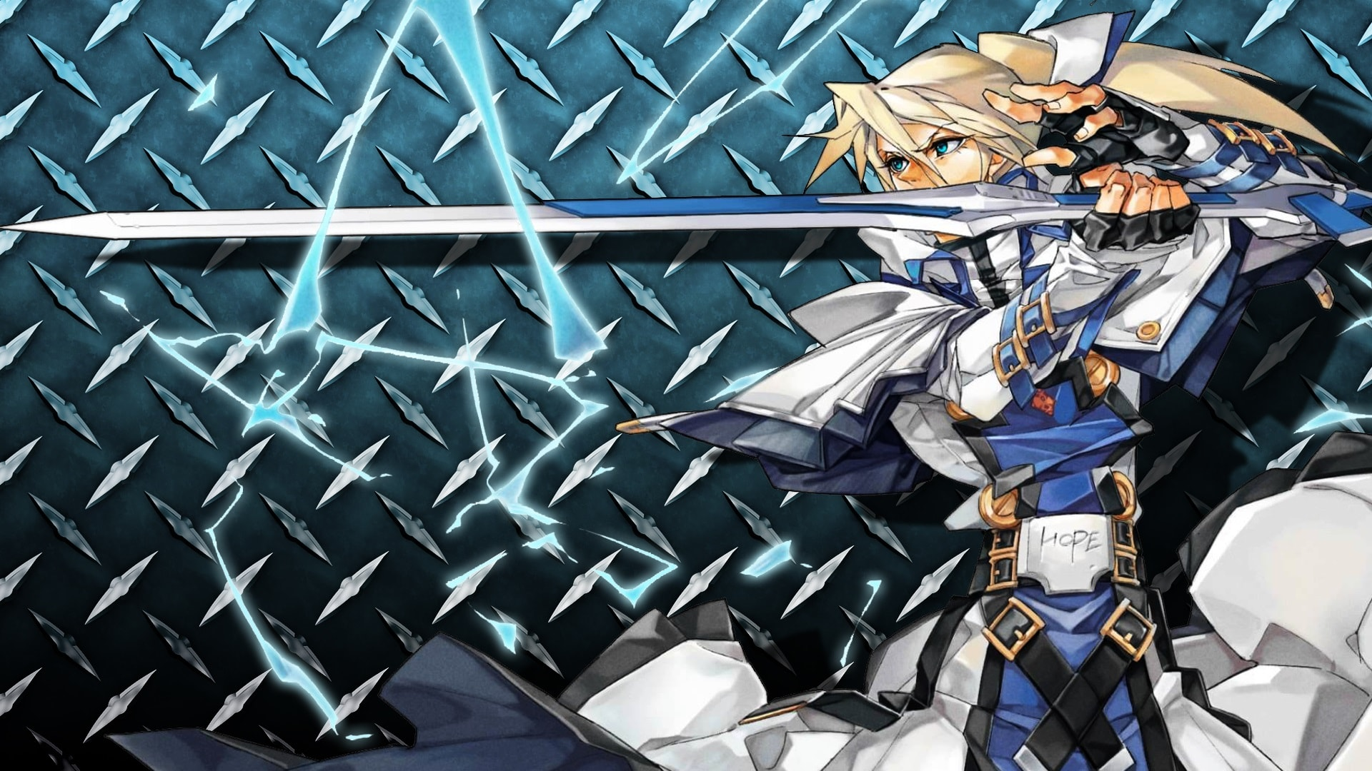 Guilty Gear: Ky Kiske Desktop wallpaper