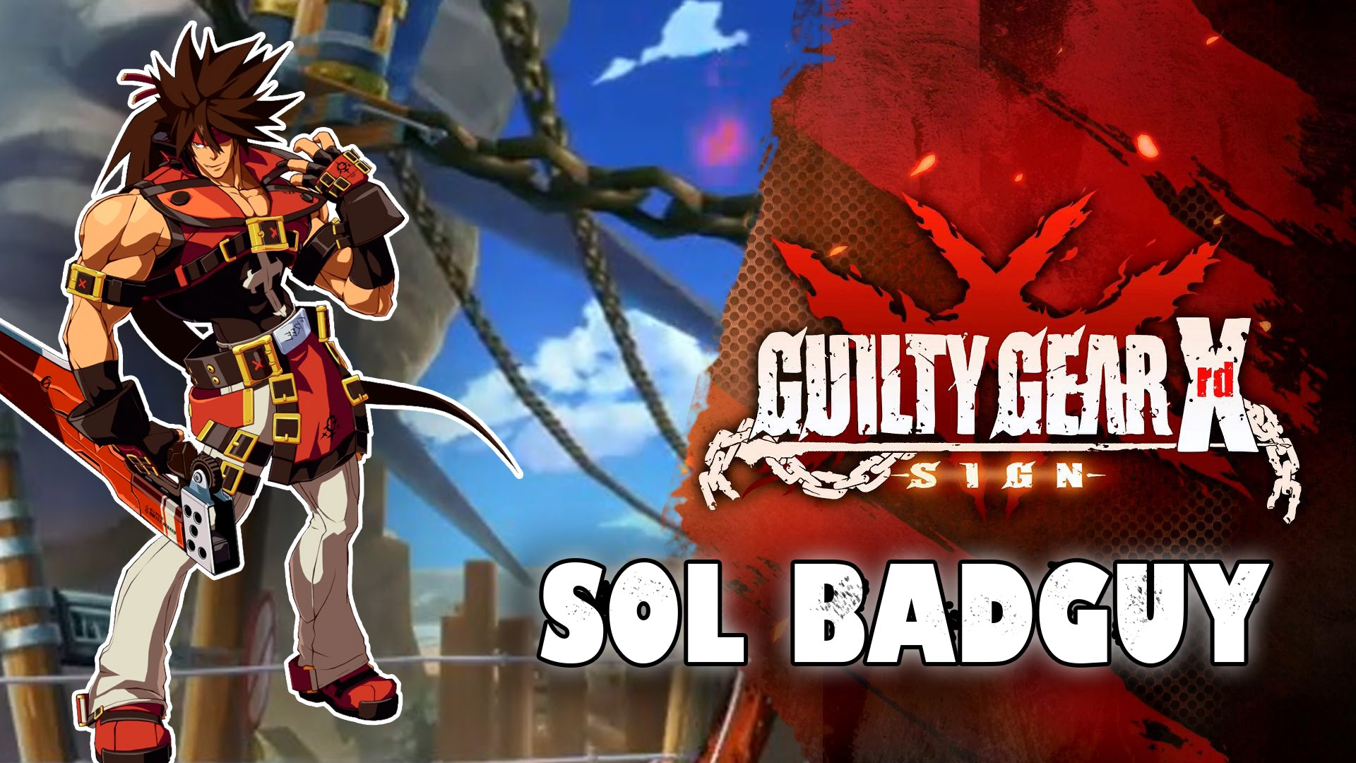Guilty Gear: Sol Badguy Desktop wallpaper