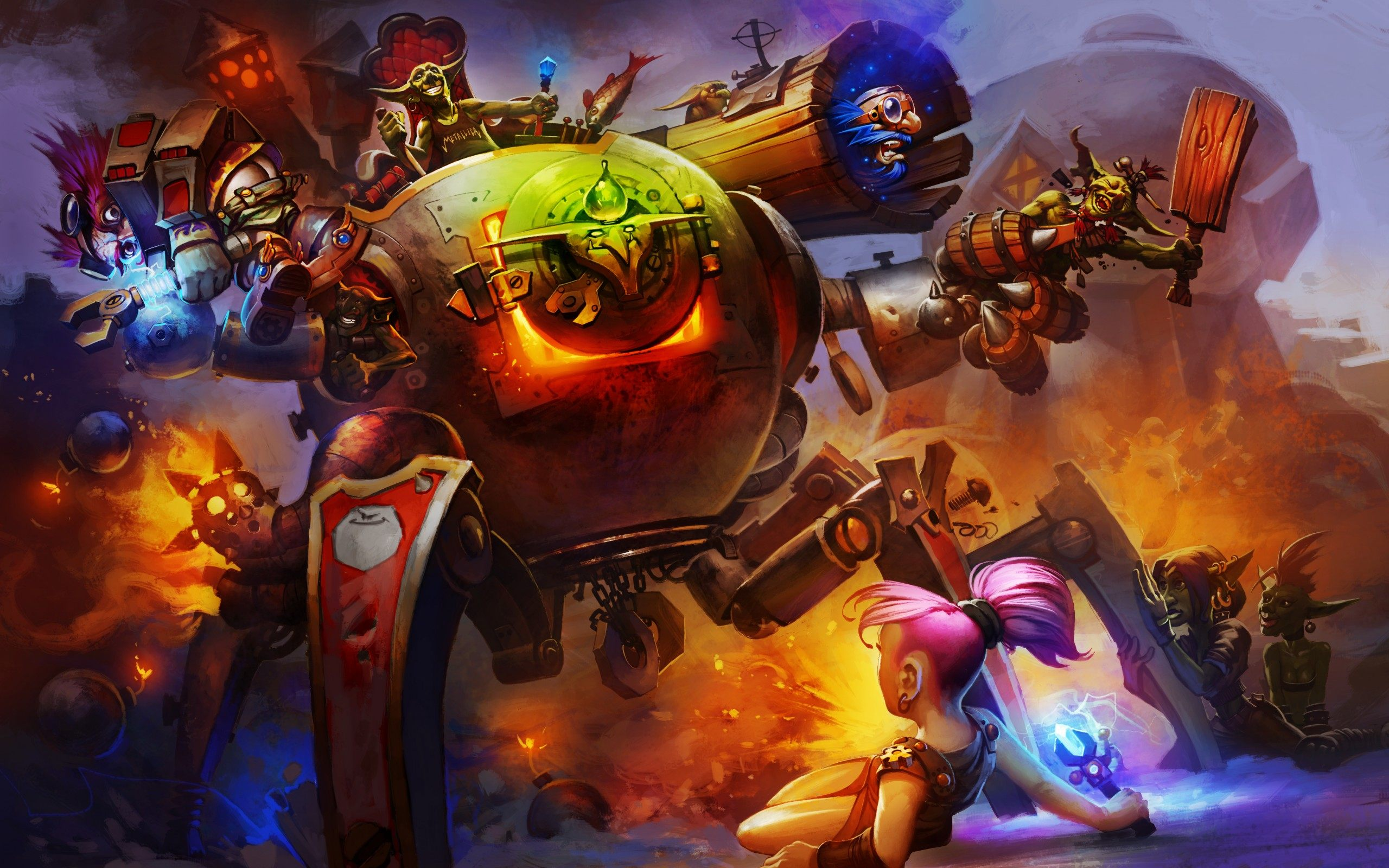 Hearthstone: Goblins Vs. Gnomes Download