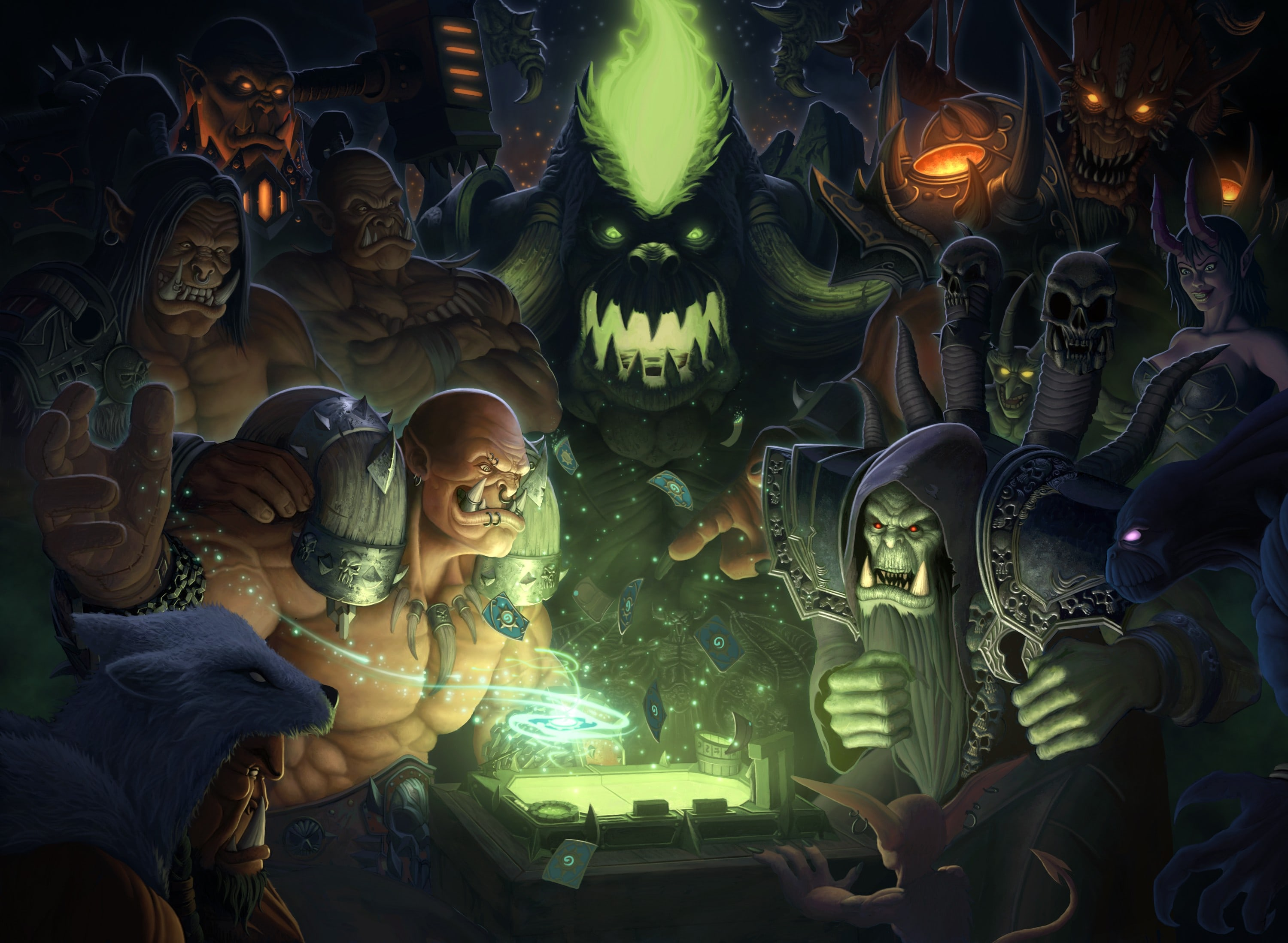 Hearthstone: Heroes Of Warcraft desktop wallpaper
