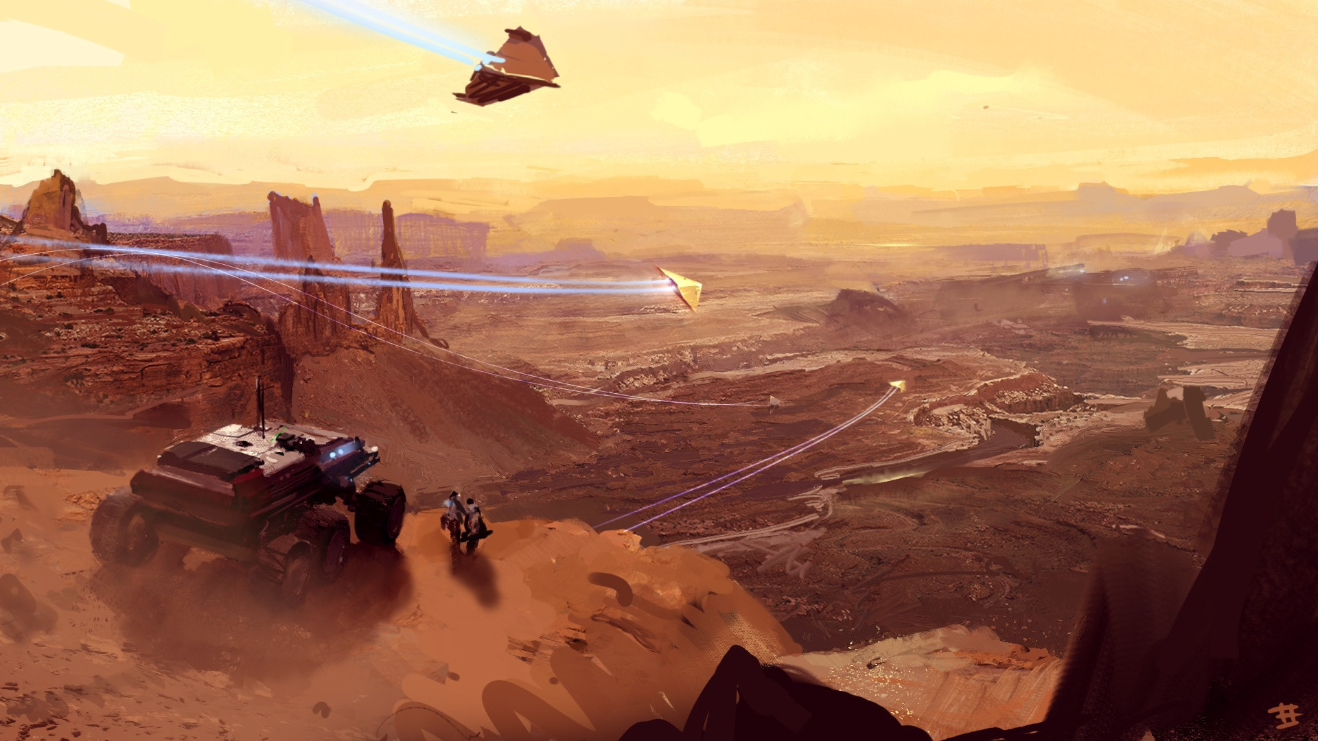 Homeworld: Deserts of Kharak Desktop wallpaper