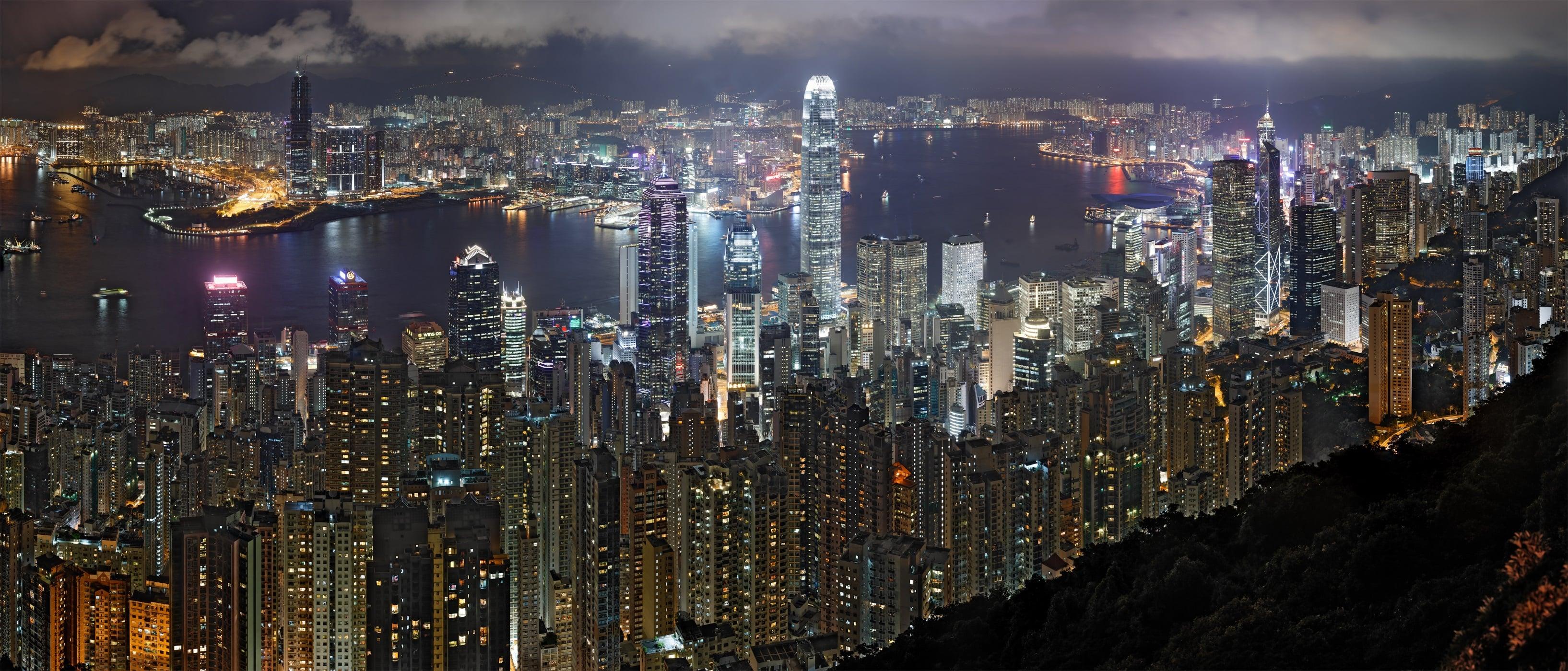 Hong Kong desktop wallpaper